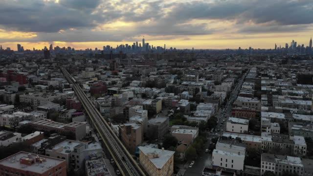 brooklyn aerial - манхэттен стоковые видео и кадры b-roll