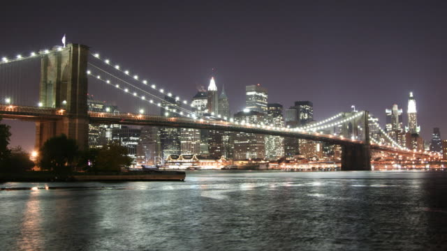 Brooklyn Bridge Time Lapse video