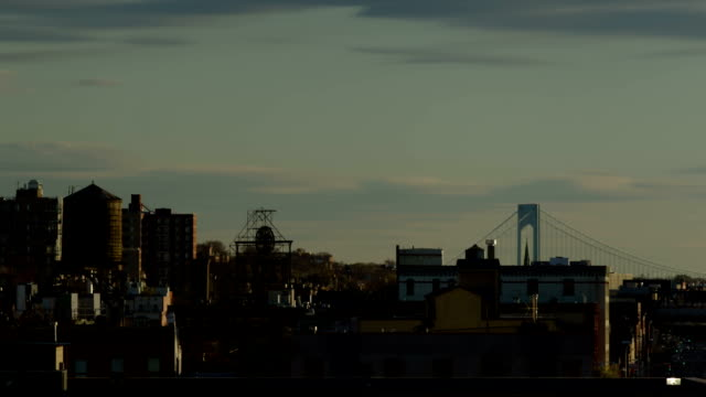 Brooklyn view timelapse day to night video
