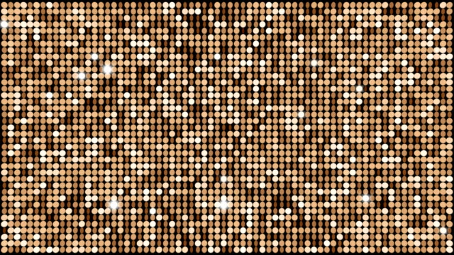 Brown glitter light background – seamless looping video