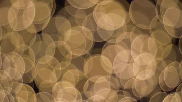 Brown light bulb. Shift focus concept. video