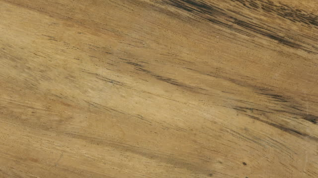 茶色の木製デスク背景 - 木目点の映像素材/bロール