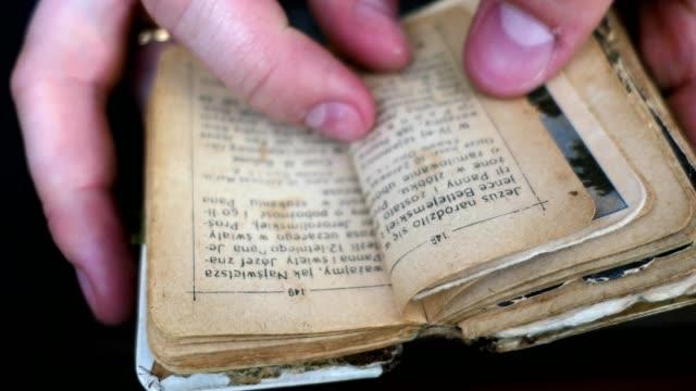 Browsing Old Vintage Prayer-Book