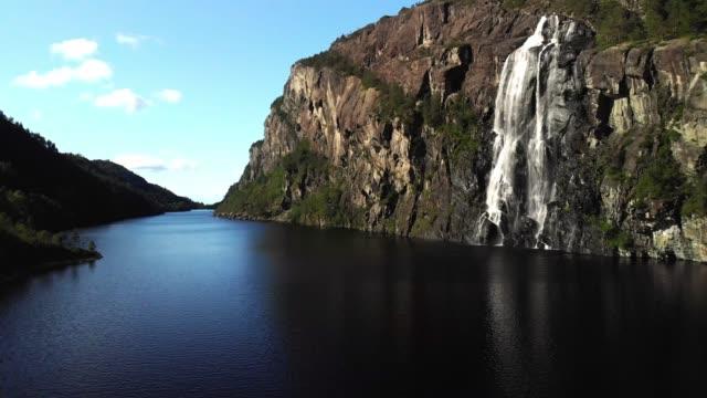 Brudesløret waterall, Norway