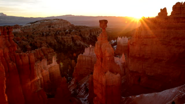 Bryce Canyon Sunrise Timelapse of Bryce Canyon Amphiteatre. utah stock videos & royalty-free footage