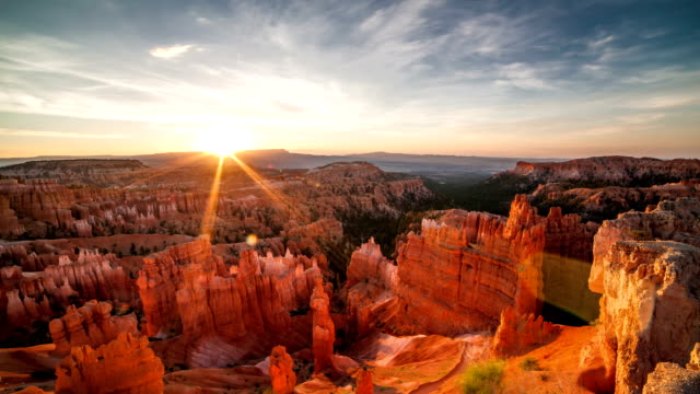 bryce canyon - parco nazionale video stock e b–roll