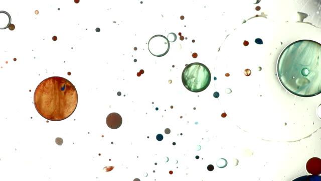 Sammanfattning av bubbelfärg video