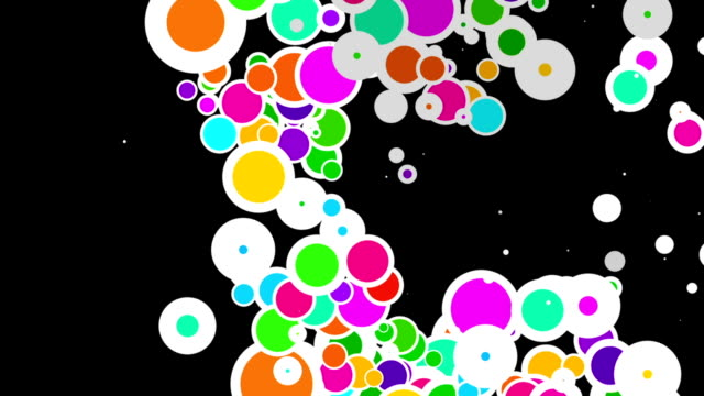 bubble floating video