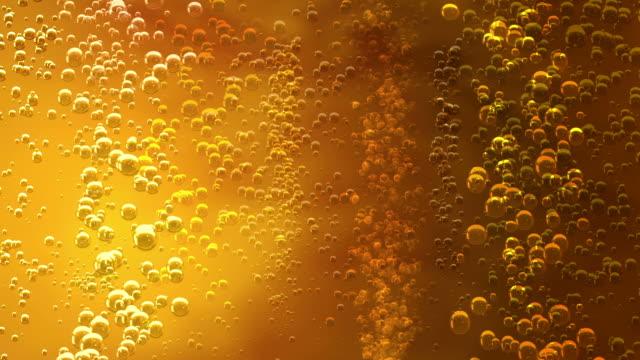 Bubbles in a liquid video