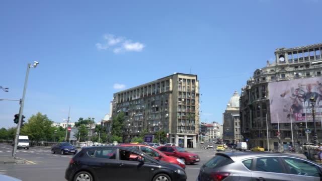 Bucharest streets video