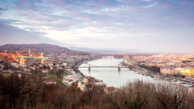 Budapest Panorama, Hungary, Europe video