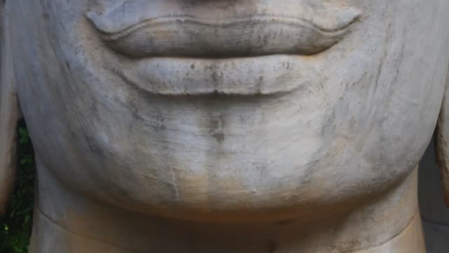 Buddha statue in asian video