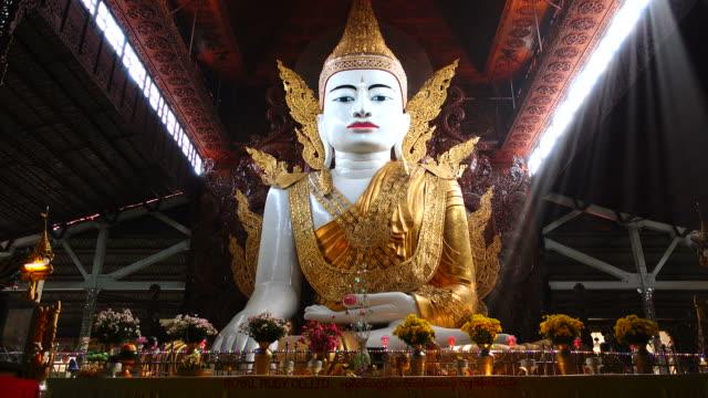 Buddha Statue in Yangon, Myanmar video