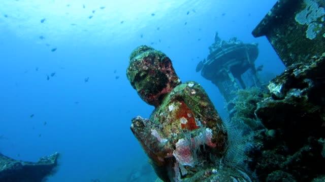 Buddha-Statue Unterwasser – Video
