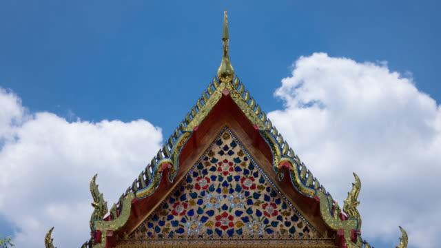 Buddhist Architecture Wat Pho In Bangkok video