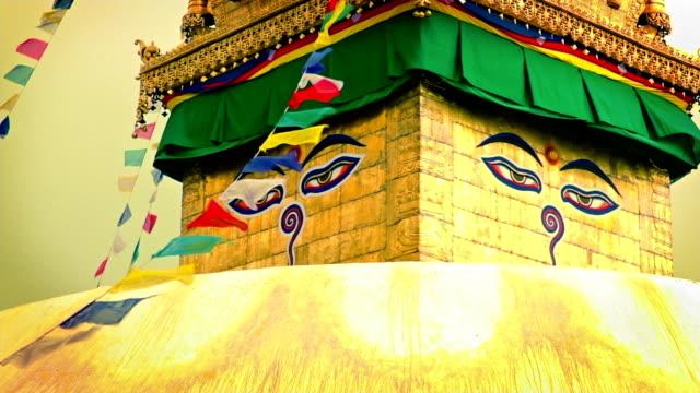 Buddhist temple video