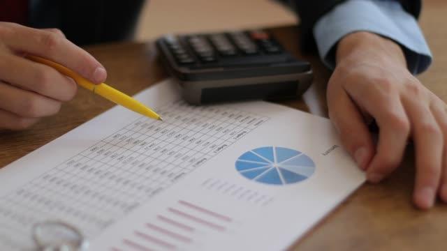budgetkonto - accounting bildbanksvideor och videomaterial från bakom kulisserna