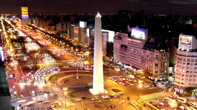 vídeos y material grabado en eventos de stock de buenos aires, argentina - señalización vial