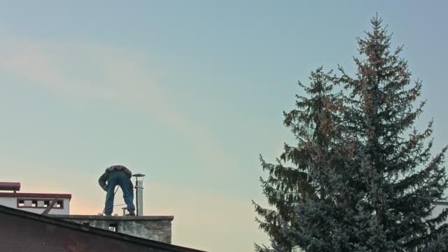 Builder Man with Screwdriver Machine video