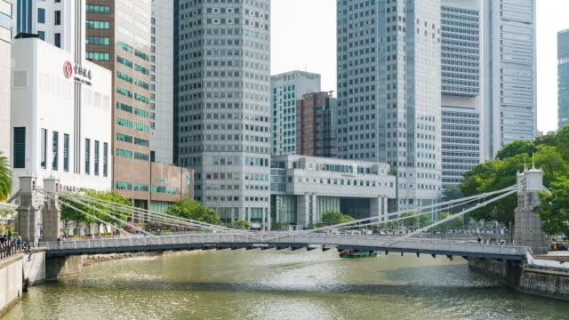 4k tl: 在新加坡城市建設和摩天大樓。 - 東南 個影片檔及 b 捲影像