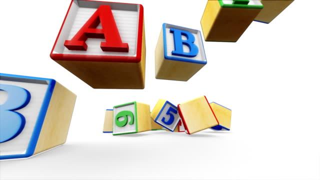 Building Blocks Spell Babies video