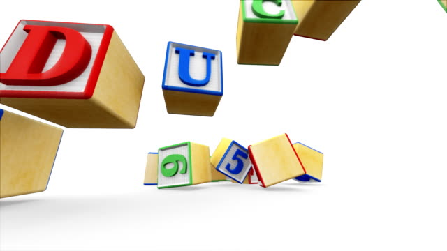 Building Blocks Spell Educate video
