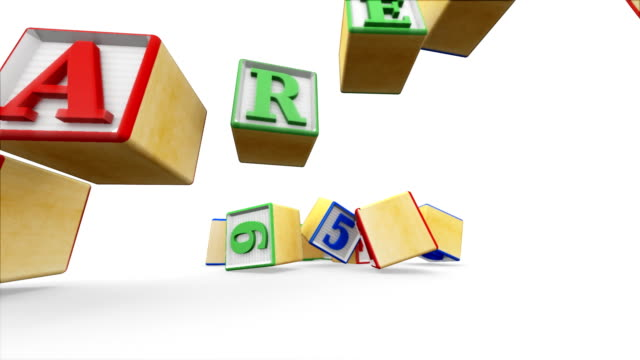 Building Blocks Spell Parents video