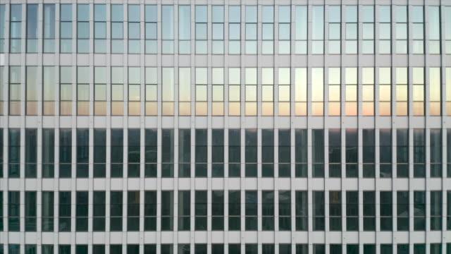 building reflection - quartiere generale video stock e b–roll