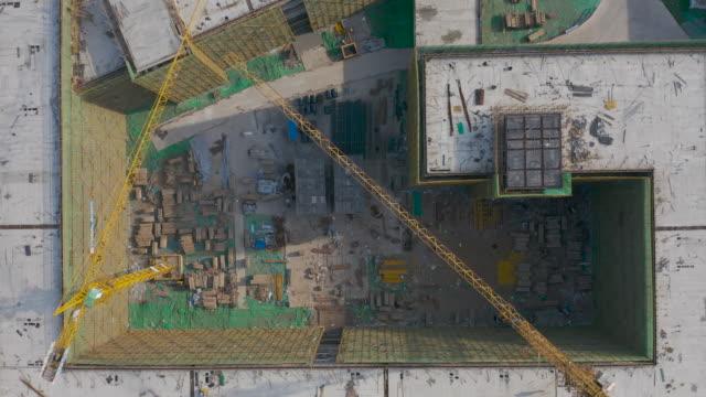 vídeos y material grabado en eventos de stock de edificio en construcción - imperfección