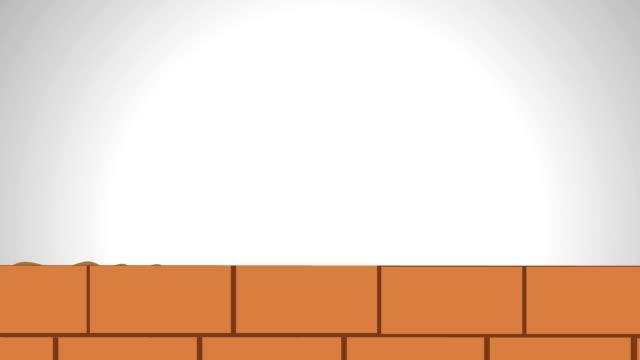 建物の壁 - 煉瓦点の映像素材/bロール