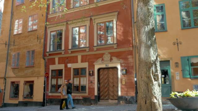 byggnader och träd i stockholm - stockholm bildbanksvideor och videomaterial från bakom kulisserna
