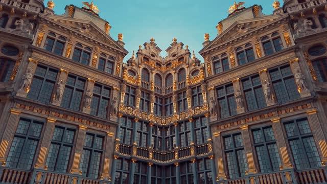 Buildings of Grand Place, Brussels, Belgium
