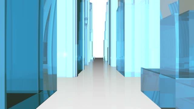 建物の構造体。 - ローポリモデリング点の映像素材/bロール