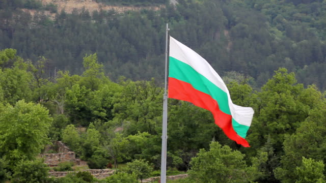 Bulgarian flag video