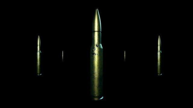 Bullet War background+Alpha Channel Bullet Animation (loopable) alpha channel stock videos & royalty-free footage