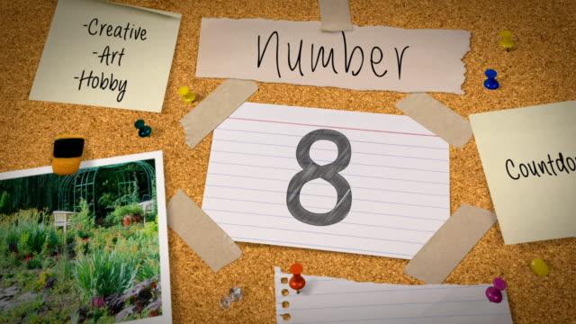 Bulletin Board Top Ten Countdown video