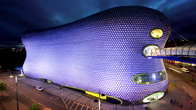 Bullring Building, Birmingham, UK video