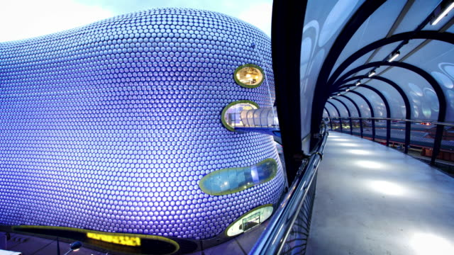 Bullring Building Tunnel, Birmingham, UK video