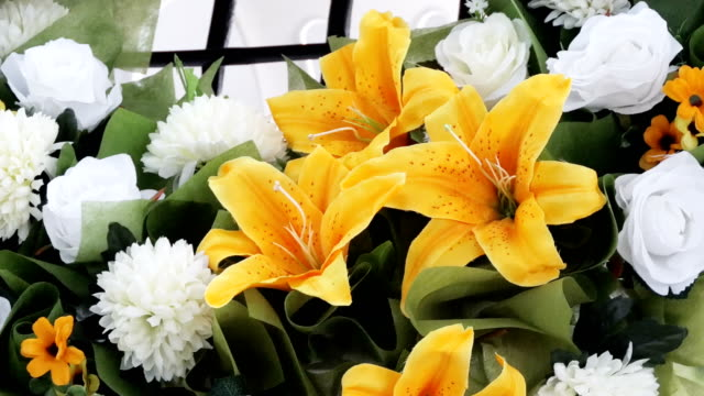Bunch of lily flowers