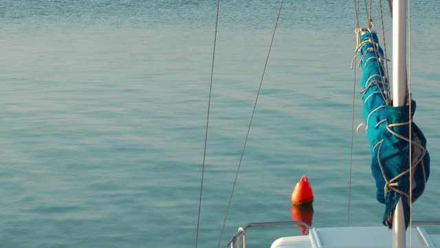 Buoy in the Sea Water