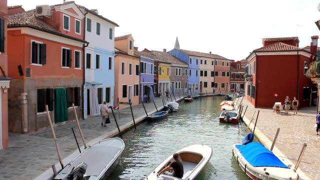 HD 1080 :  Burano Island - Venice video