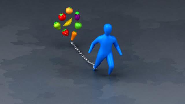 Burden symbol - 3D Animation video