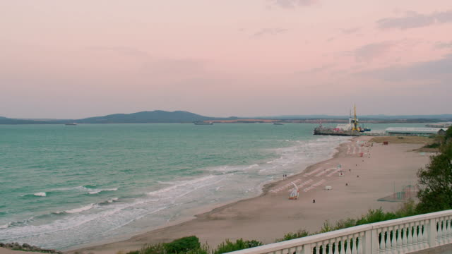 Burgas City Beach, Bulgaria video