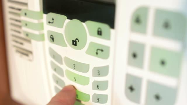 burglar alarm video