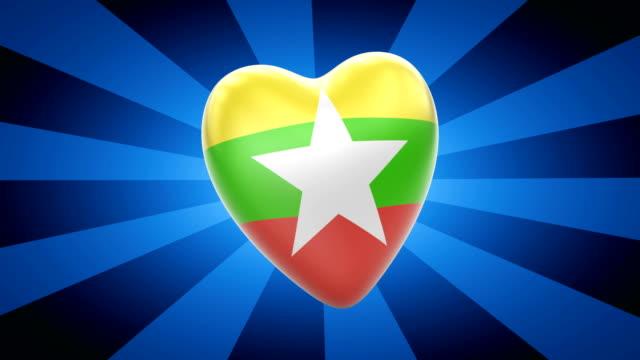 birmania - naypyidaw video stock e b–roll