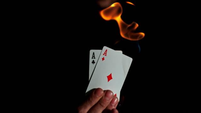 SLO MO Burning aces
