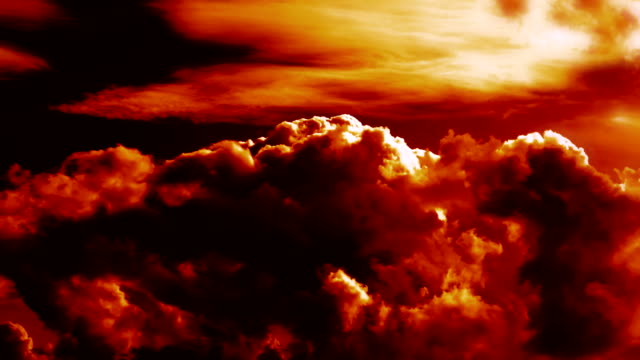burning blowing hell fire clouds time lapse epic cinematic - inferno video stock e b–roll