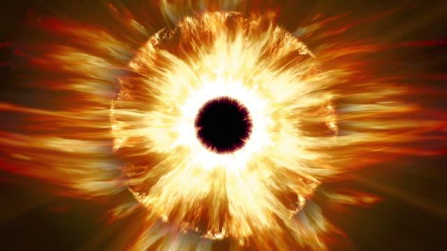 vidéos et rushes de brûler le feu sauron s eye. boucle. - charmeur