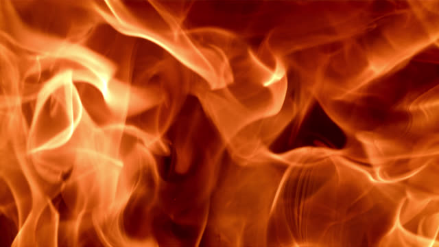 SLO MO Burning flame