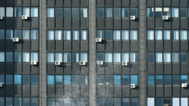 burning オフィスビル - 全壊点の映像素材/bロール